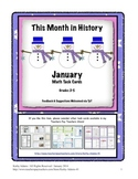 Math Word Problems January Grades 3-4