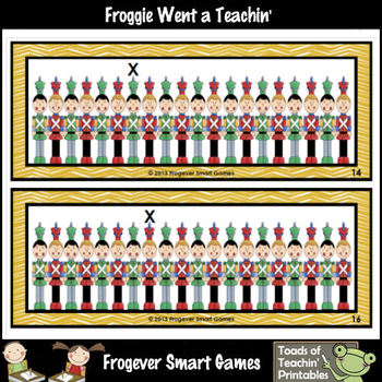 Math Center--Toy Soldiers on Parade (Ordinal Numbers)
