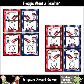 Time--USA Beanbag Toss I Have... Who Has? (O'Clock Version)