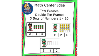 Math Center Using Ten Frames Counting and Cardinality  Chr