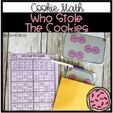 Math Center: Who Stole The Cookies (Solve the Missing Number)
