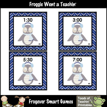 Time--Whooo... Knows the Time? Bump Games (O'Clock/Half Past)