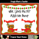 Addition--Whooo... Loves Math? Addition Bump Game