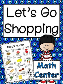 Math Center: Working with Money Enrichment