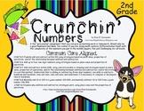 Math Center Worksheet Second Grade Common Core Aligned 2.NBT Practice