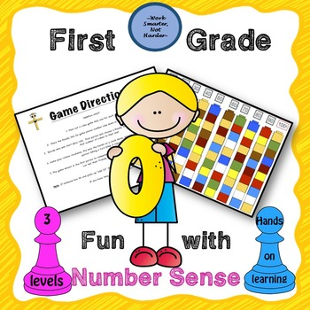 Number Sense Building Game Differentiated