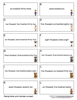 Math Center: Writing Numbers (Farm Theme) Common Core