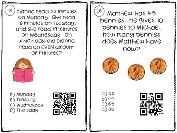 2nd Grade Place Value Math Center - Base Ten with Skip Counting