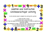 Math Center for Addition and Subtraction