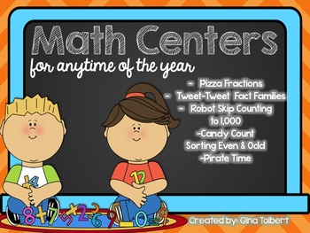 Math Centers for Anytime of the Year