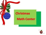 Math Center for Christmas
