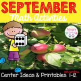 September Number Sense Activities