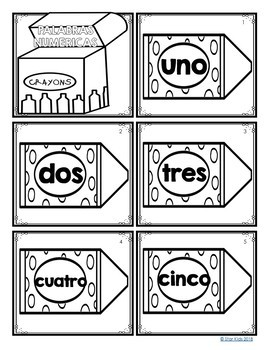 Math Center in English and Spanish {FREEBIE}
