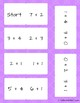 Math Center or Game: Addition Domino
