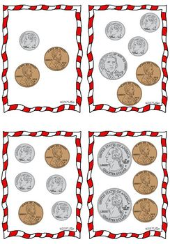 """Math Center: """"the price tags"""" using decimals -3rd & 4th grade- Christmas gifts"""