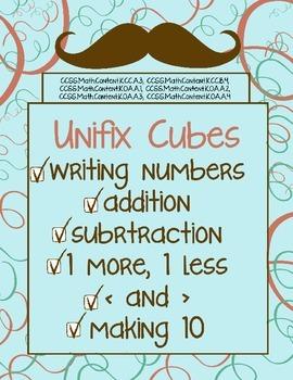 Math Center using Unifix Cubes