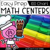 Math Centers {100 Chart}