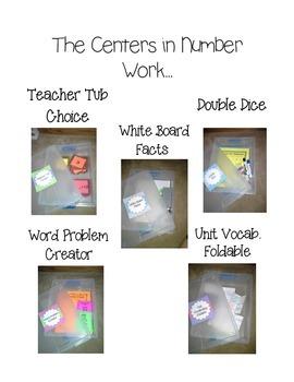 Math Centers