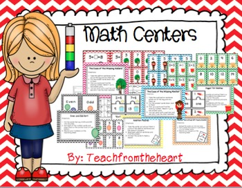 Math Centers (6 Centers!)