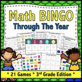 3rd Grade Math Games: 21 3rd Grade Math Bingo Games