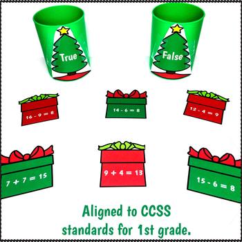 Math Centers 1st Grade December