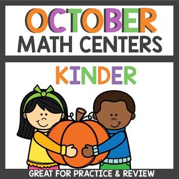October Math Centers Pumpkin themed