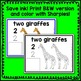 Zoo Animal Count and Write Mat Math Center