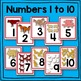 Farm Animal Number Card Math Center