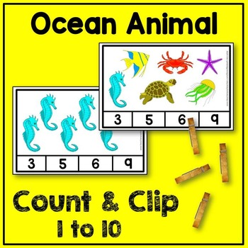 Ocean Animal Count and Clip