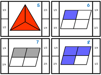 Fractions Activity | Fractions Game | Fractions Center | Fractions Practice