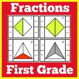 Fractions for First Grade | Fractions First Grade | Fractions Game