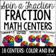 Math Centers {4th and 5th Grade Math Spinner Centers BUNDLE}