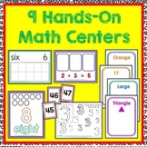 Math Center BUNDLE - Class Room and Distance Learning