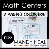 Math Centers - A Winter Collection