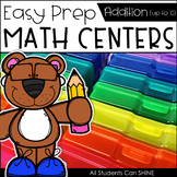 Math Centers {Addition to 10}