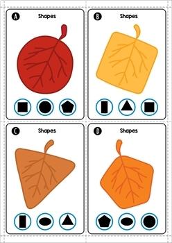 Autumn / Fall Math Centers