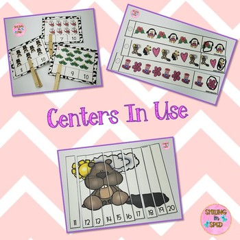 Math Centers BUNDLE (February Theme)