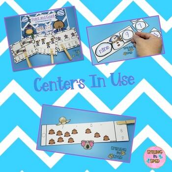 Math Centers BUNDLE (January Theme)