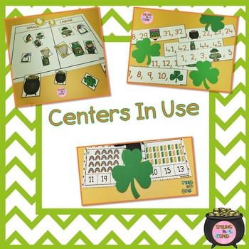 Math Centers BUNDLE (March Theme)