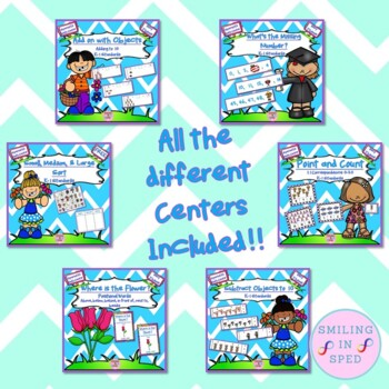 Math Centers BUNDLE (May Theme)