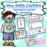 Math Centers BUNDLE (May Theme)