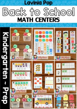 Math Centers - Back to School