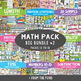 Math Centers Big Bundle 2 {Math Activity Packs 10-8}