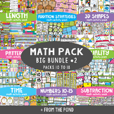Math Centers Big Bundle 2 {Math Activity Packs 10-8}