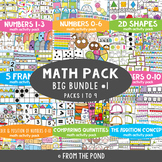 Math Centers Big Bundle {Math Activity Packs 1-9}