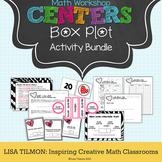 Box Plot Math Centers Activity Pack