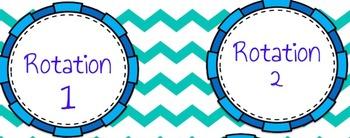 Math Centers Bulletin Board and Banner