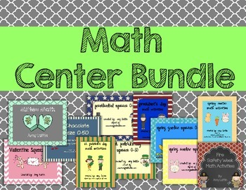 Math Center Bundle