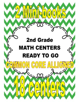 Math Centers Bundle (20 activities ready to go)