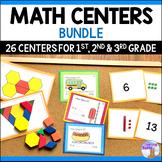 1st, 2nd, 3rd Grade Math Centers Bundle